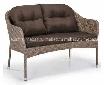 мебель Диван S54B-W56 Light brown